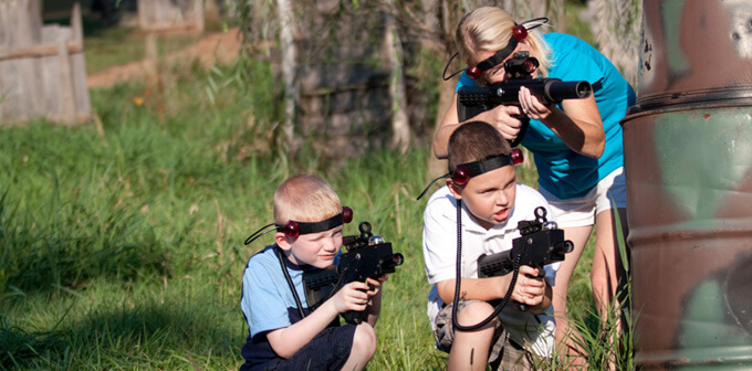 Outdoor Laser Tag - Adventure Sports - Hershey, PA