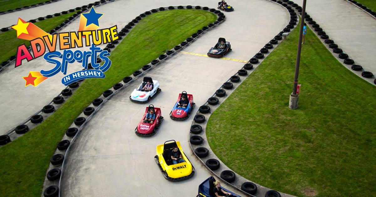 Go Kart Racing Pa >> Go Karts Adventure Sports Family Fun In Hershey Pa