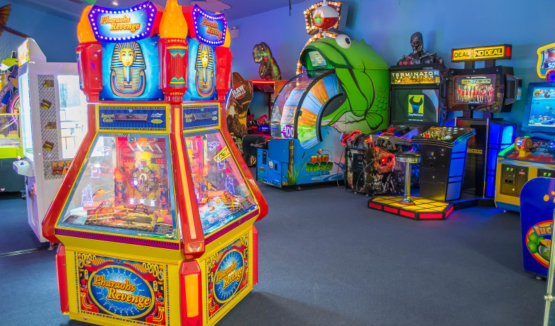 Arcade Games Adventure Sports Family Fun In Hershey Pa